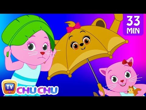 Rain Rain Go Away Nursery Rhyme With Lyrics - Cartoon Animation Songs for Kids | Cutians | ChuChu TV