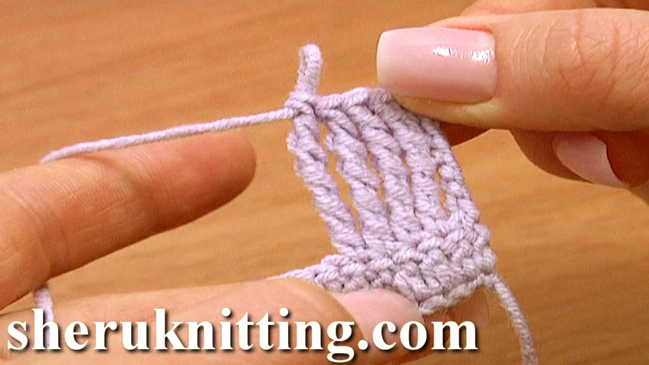 Crochet Quadruple Stitch : Quadruple Treble Crochet Stitch Crochet Basics Tutorial 13 - YouTube