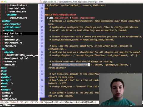 Video aula de Ruby on Rails - Aula 1