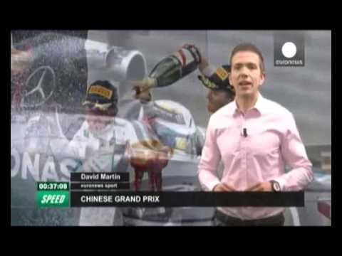 Hamilton wins Chinese Grand Prix
