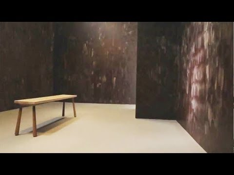 Artist Creates Room Made Out Of Chocolate