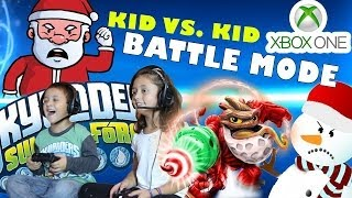 Skylanders Swap Force Battle Mode: Kids Play W/ Jolly