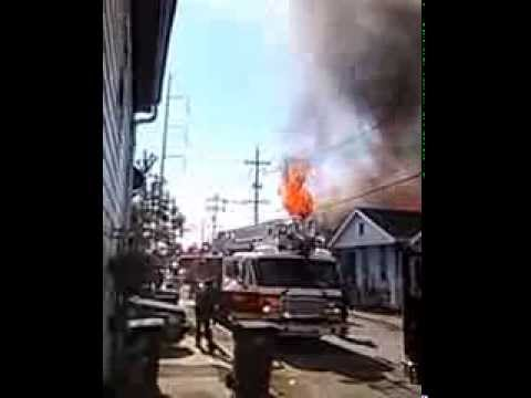 House fire in New Orleans at 1726 Port St. Part 1