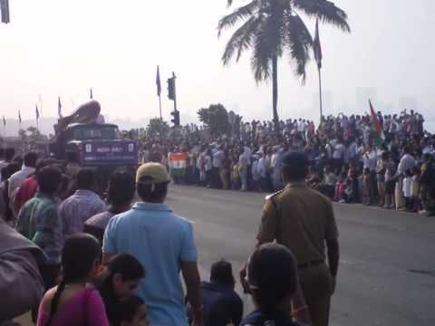Republic Day Parade 2014 Mumbai