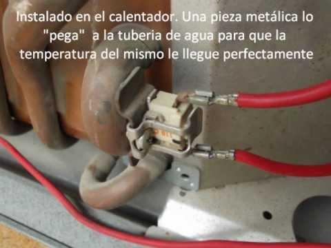 Calentador de agua a gas como funciona el limitador de for Calentador de agua a gas