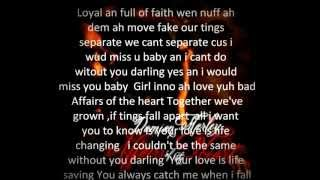 Damian Marley- Affairs Of The Heart Lyrics