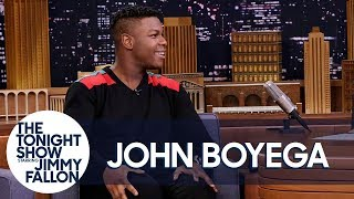John Boyega's Parents Gave Him a Paper Shredder for His Birthday
