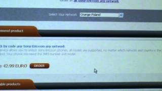 How To Unlock Sony Ericsson Wt19i Whit Sim-unlock.net