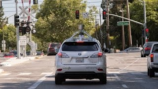 Google Self driving Car Accident; Hits a Public Bus in California
