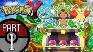 Pokemon X And Y Part 1: The Kalos Adventure Begins