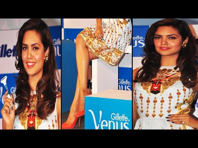 Hot Gal Esha Gupta Sexy Figure In White Dress
