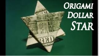 How To Make An Easy Origami DOLLAR STAR Instructions