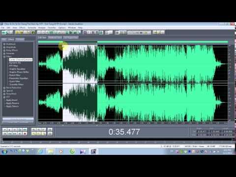 [Adobe audition] Hướng dẫn tách lấy beat từ 1 bài hát bất kỳ_Chắc ai đó sẽ về