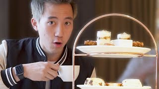 Americans Try Afternoon Tea In London For The First Time