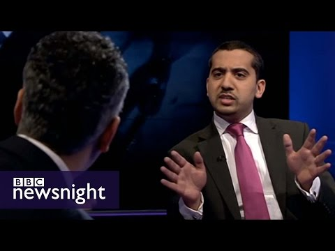 Maajid Nawaz, Mehdi Hassan and Mo Ansar lock horns on Newsnight