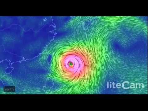 Super Typhoon Neoguri Loop July 7, 2014