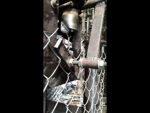 CƠ KHÍ THÁI SƠN Chạy thử Máy dệt lưới b40 vừa lắp ráp xong (0913662243) A THÁI