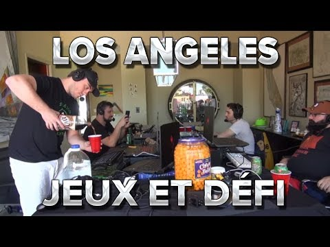 Los Angeles #7 : Jeux et défi !