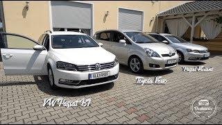 VW Passat B7 /// Toyota Verso /// Оформили 3 автомобиля из Германии Денис Рем Дестакар