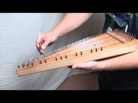 Master Works Mahogany Bowed Psaltery