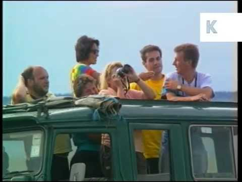 1980s People on Safari in Africa, Archive Footage