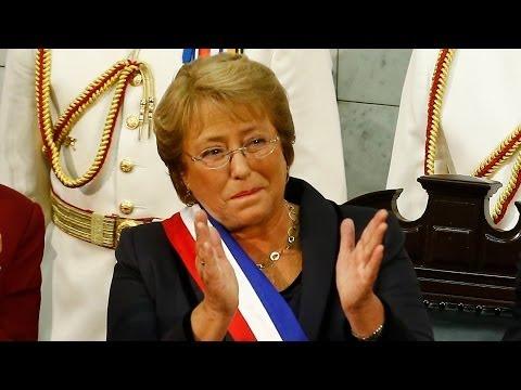 Michelle Bachelet asume su segundo término como Presidenta de Chile