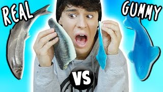 GUMMY FOOD vs. REAL FOOD!!!
