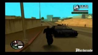 Como Conducir Un Coche Explotado (GTA San Andreas)