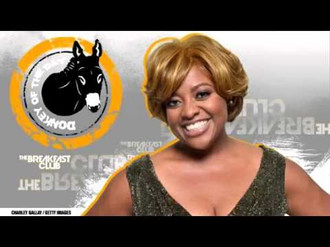 Donkey of the Day - Sherri Shepherd (Silly Topless Question) - The Breakfast Club