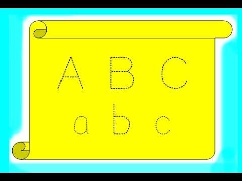 Cara Membuat Huruf Putus Putus ~ Belajar Menulis Anak - YouTube