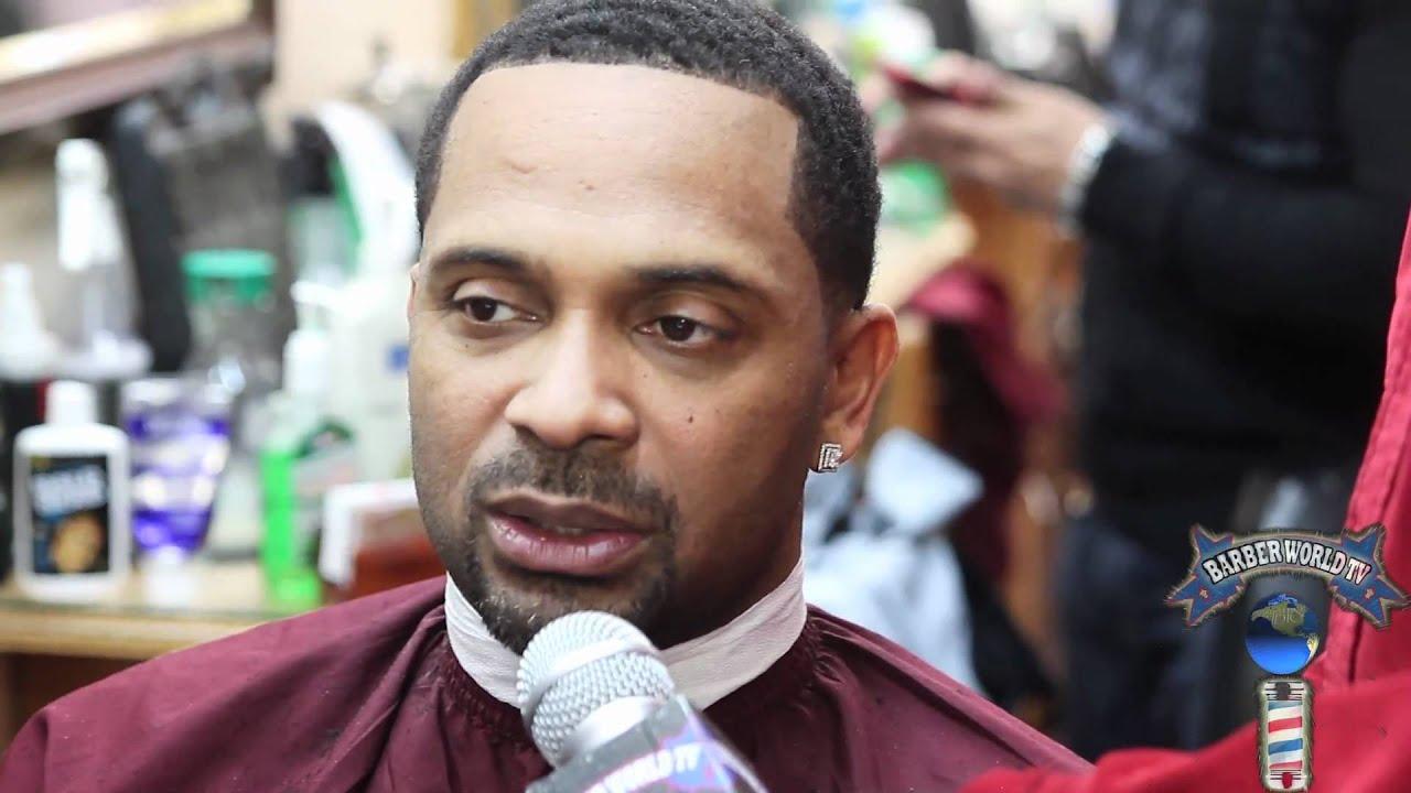 Barber World : Mike Epps interview Barber World TV at LEVELS Barbershop Kamal Nuru ...