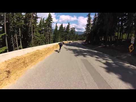 Noah Sakamoto Whistler Longboard Fest 2013
