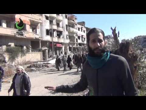 Ceasefire and evacuation agreement -besieged Homs - 7-2-2014