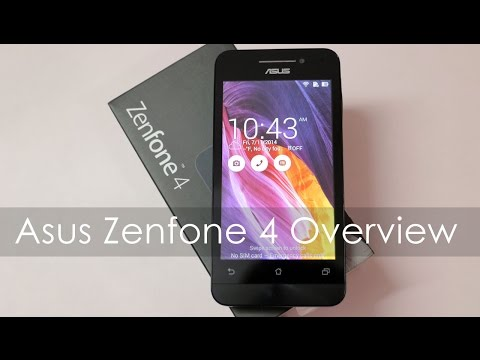 Asus Zenfone 4 Budget Android Phone Unboxing & Overview