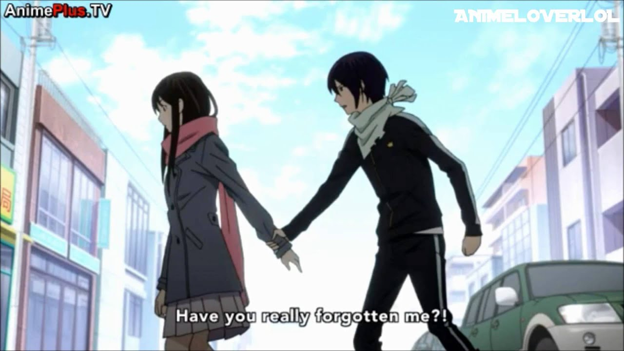 Noragami Ep 11 Yato x Hiyori Moment   quot Get in bed with me quot  - YouTube