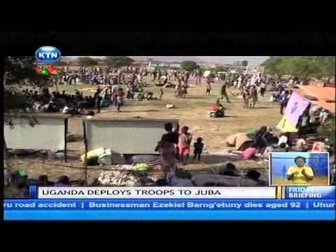 Uganda deploys troops to Juba