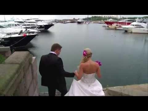 Свадьба на пароме