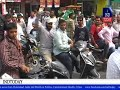 MIM Akbar Owaisi too goes canvassing on bike in chandrayangutta