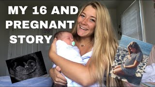 Pregnant at 16 || single teen mom story time
