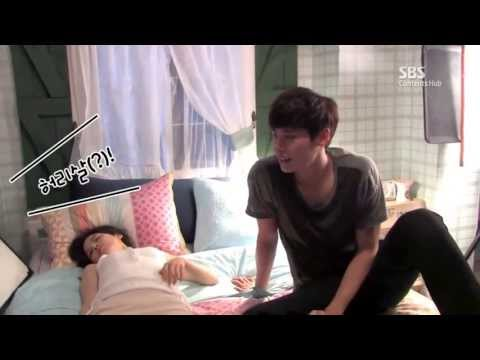 [I Hear Your Voice BTS] Lee Jong Suk & Lee Bo Young Ep.12