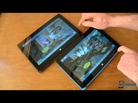 Hình ảnh trong video Running Android Apps on the Surface Pro