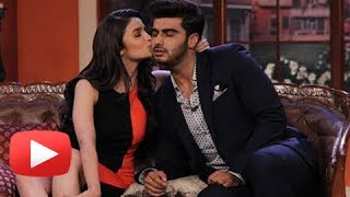 OMG ! Arjun Alia Kiss On National TV Show