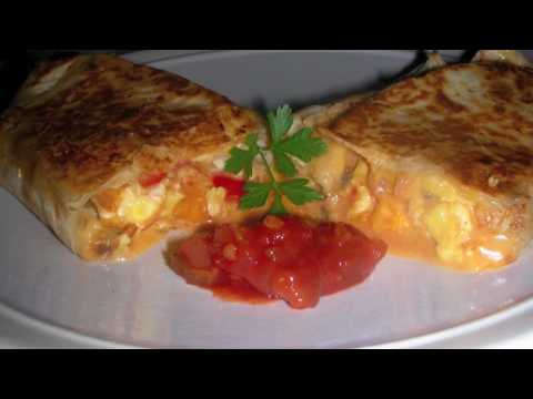 Vegetarian Breakfast Burrito Recipe