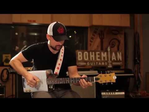 Bohemian Honey Oil Can Guitar Single Pickup, B-Stock