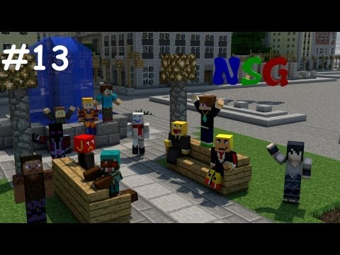 minecraft NSG episode 13 (server tour and road building)