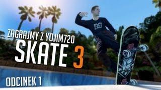 #1 Zagrajmy W Skate 3 TUTORIAL XBOX 360 HD PL
