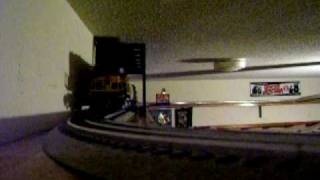 Model Train/Shelf Layout
