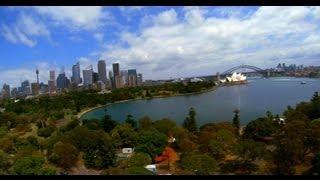 GoPro Hero3 4K Quadcopter flight at Mrs Macquaries chair