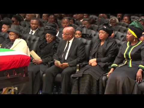 Mandela Funeral Service Draws Thousands