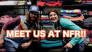 MEET UP WITH FALLON AND DALE BRISBY AT THE  NFR!!
